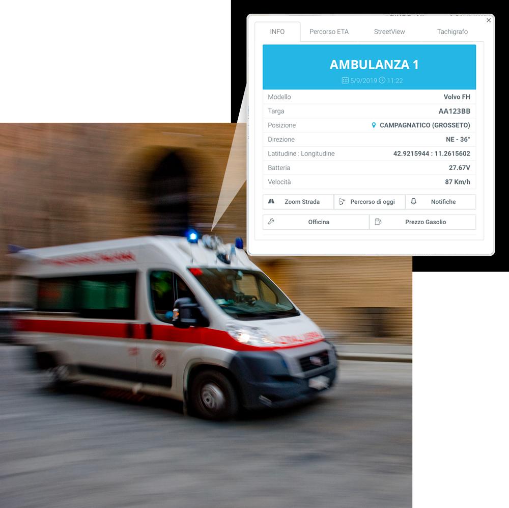 Mezzi di soccorso